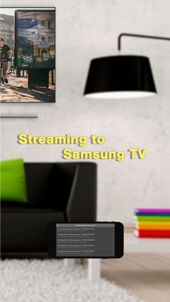 Pro Mirror Cast for Samsung TV App for iPhone - Free Download Pro