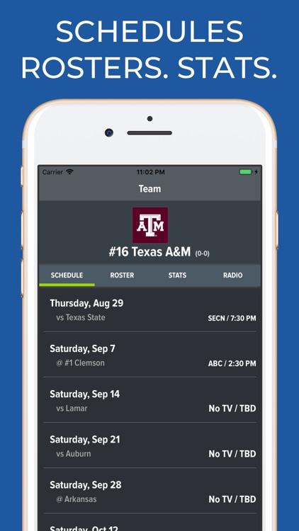 Texas A&M Football Schedules