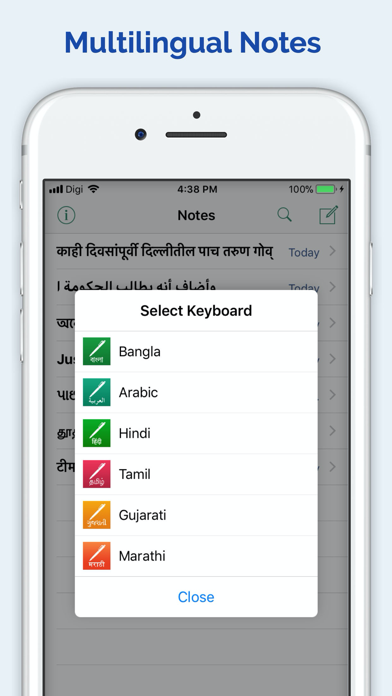 Notebook - Bangla Arabic Hindi