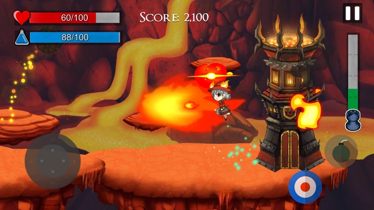 Volcano Defense screenshot-3