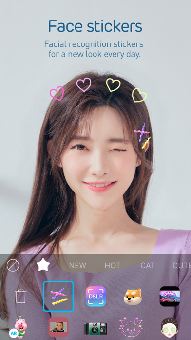Screenshot for SNOW - Beauty & makeup camera in Philippines App Store