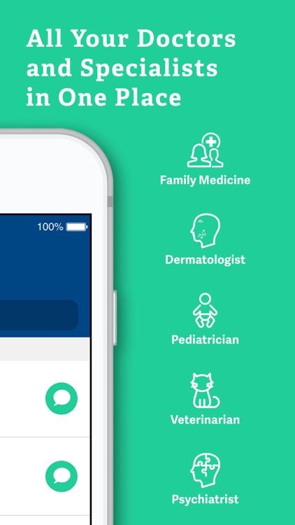 Medici: Text Your Doctors, Vet screenshot-3