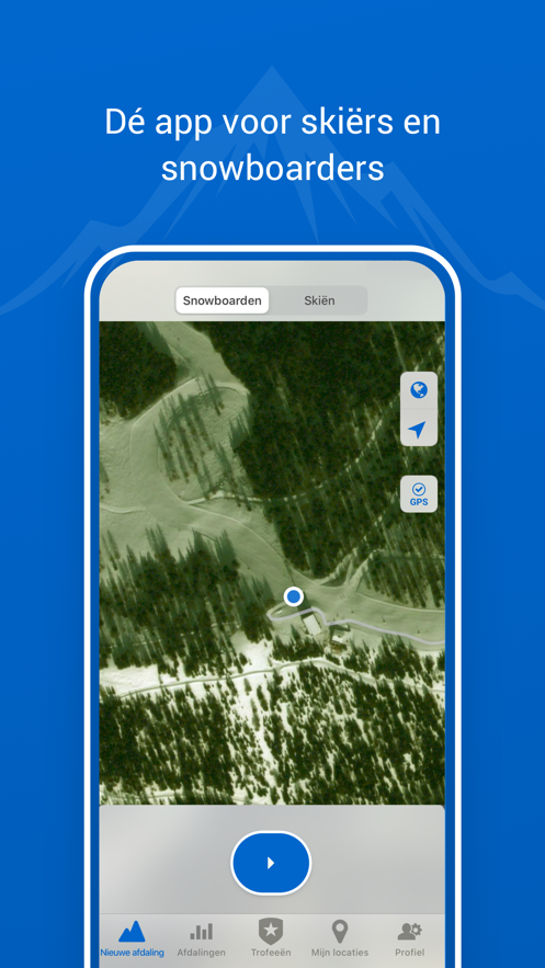 Afdaling - Ski & Snowboard App 截图