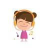 Child Girl Stickers