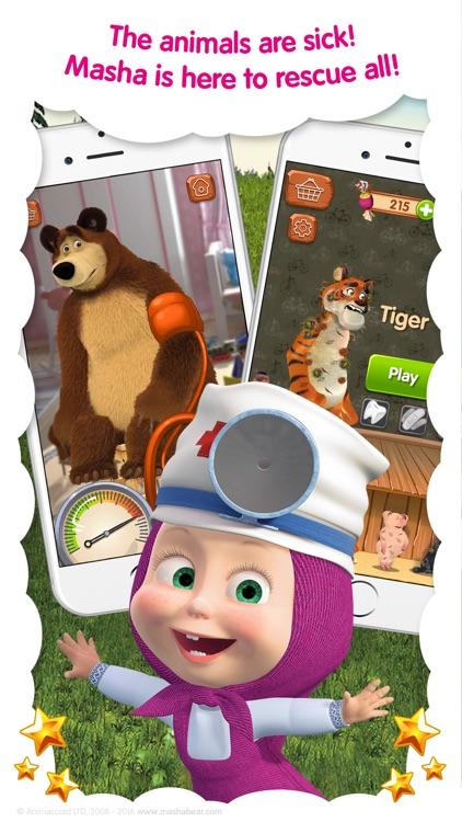 Masha and the Bear: Vet Games screenshot-4