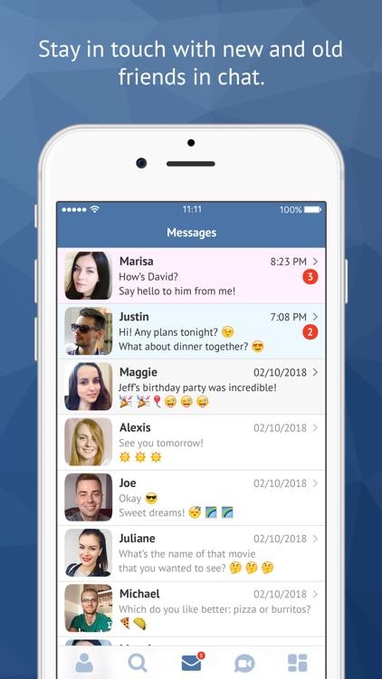 Minichat - videochat, dating screenshot-3
