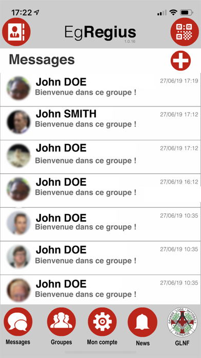 Messagerie free iphone