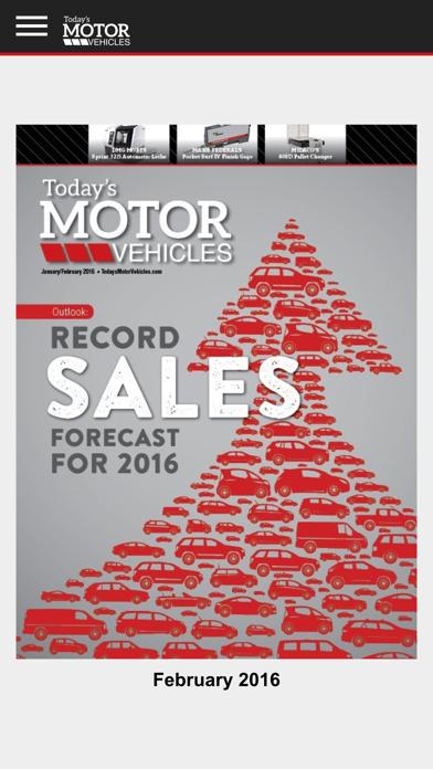 Today's Motor Vehicles
