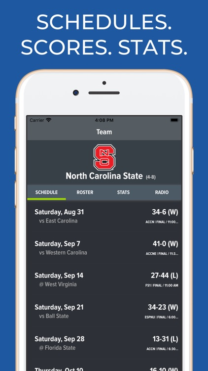 NC State Football App screenshot-0
