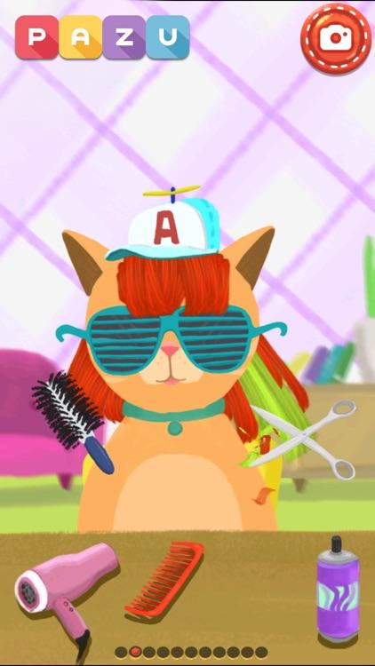 Hair salon games for toddlers screenshot-0