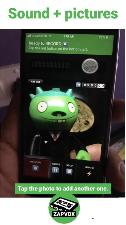Zapvox Photo Communicator screenshot-3