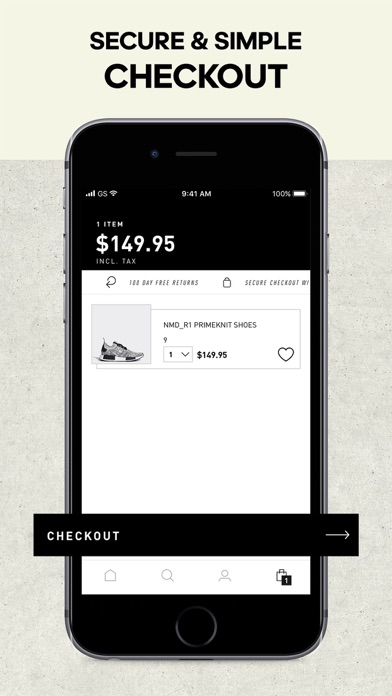 Screenshot for adidas - Sports & Style in Germany App Store