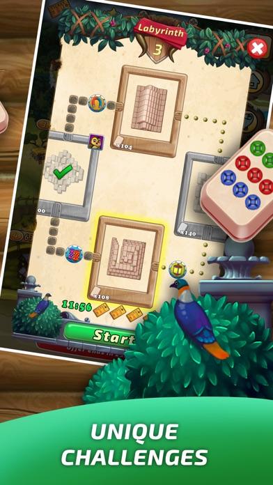 Mahjong Village screenshot three