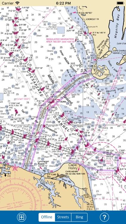 VIRGINIA-MARYLAND-DELAWARE GPS