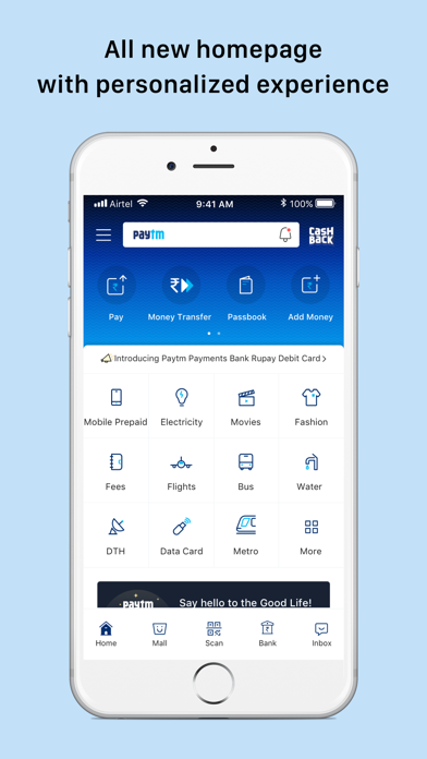 Paytm- Payments & Bank Account - Revenue & Download