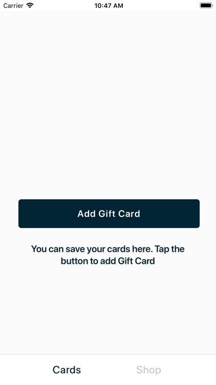 Card of Joy - local gift cards