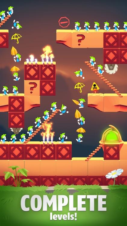 Lemmings: The Puzzle Adventure screenshot-0