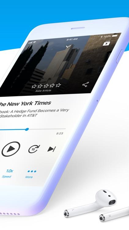 Noa: Listen to news articles