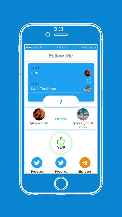 点击获取Follow Me - Social followbacks
