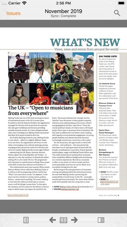 Songlines Magazine screenshot-3