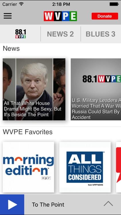 WVPE Public Radio App