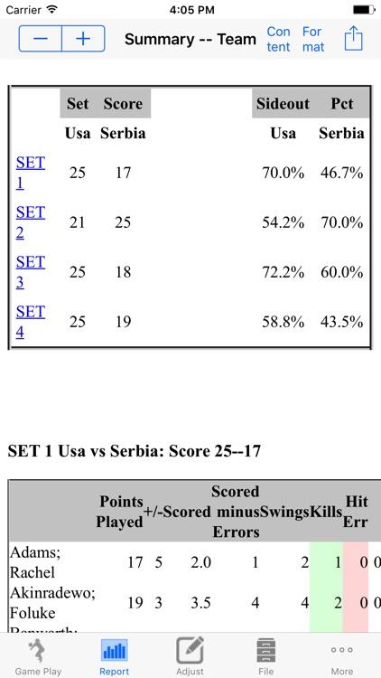 Volleyball Stat! screenshot-3