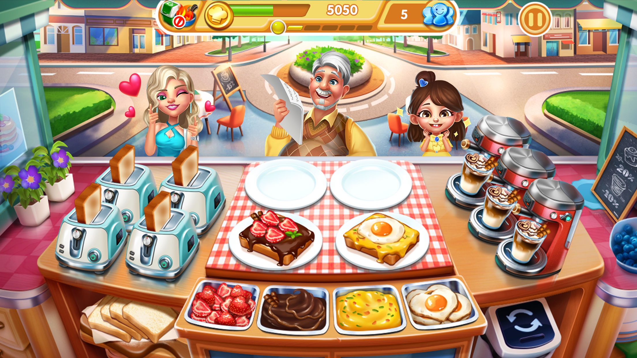 Cooking City - Chef Game Screenshot