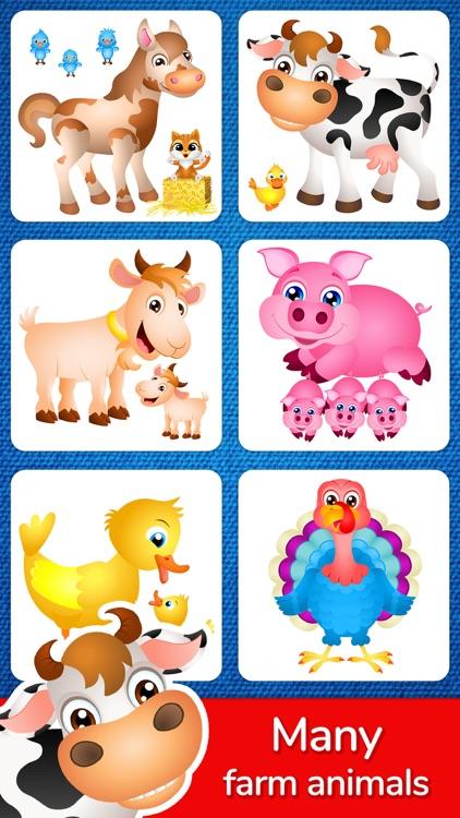 123 Kids Fun Puzzle Blue Games screenshot-4