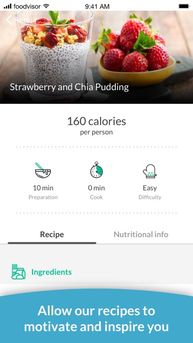 Foodvisor - Calorie Counter Screenshot
