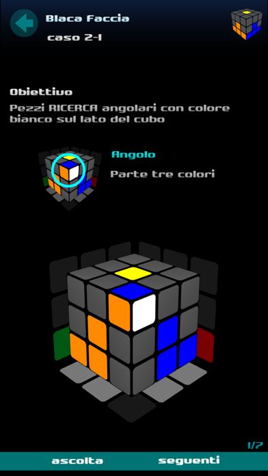 Screenshot of Risolvere il cubo3