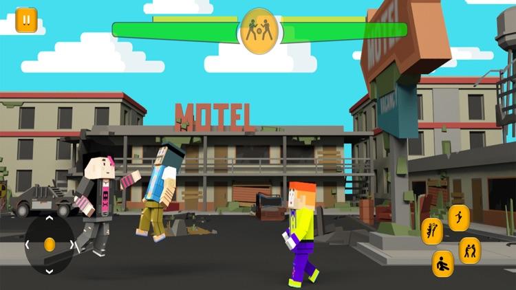 Blocky City Road Street Battle