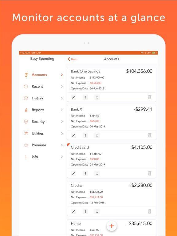 Screenshot #6 pour Easy Spending Expense Tracker