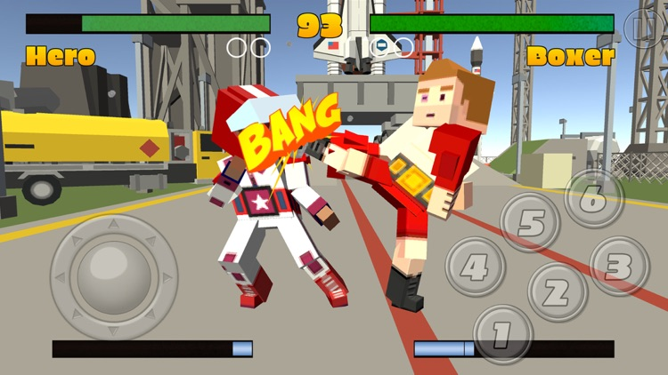 Pixel Fighting 3D