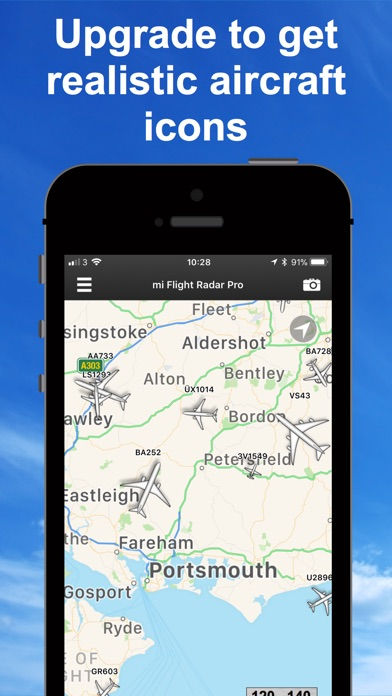 Screenshot for Flight Radar Pro - Vol Avion in Lebanon App Store