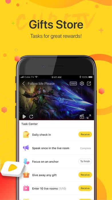 Cube TV – Live Games Community screenshot 6