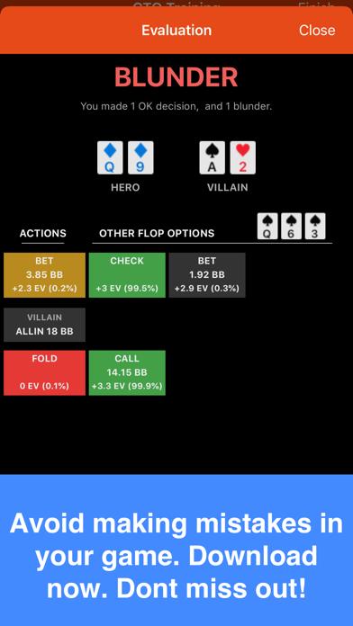 Postflop+ GTO Poker Trainerのおすすめ画像5