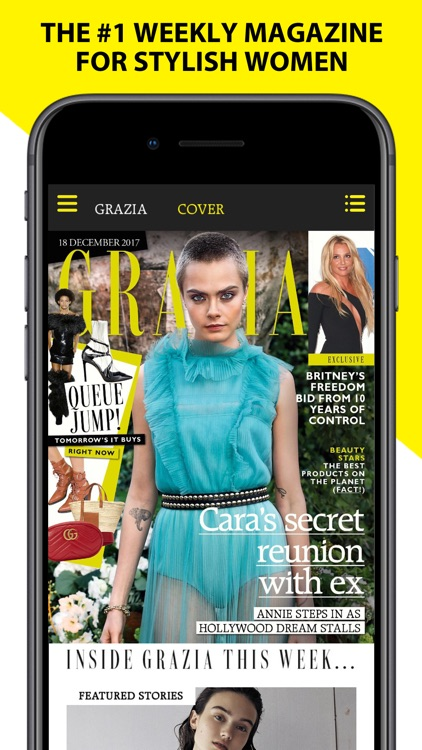 Grazia – Beauty & Fashion News screenshot-0