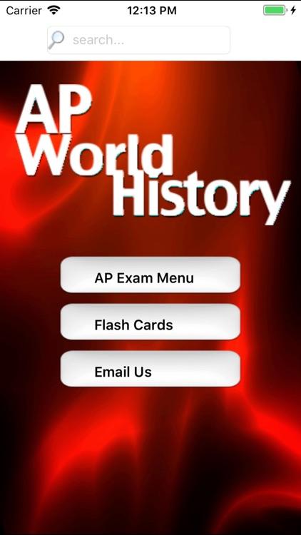 AP World History Prep 2020