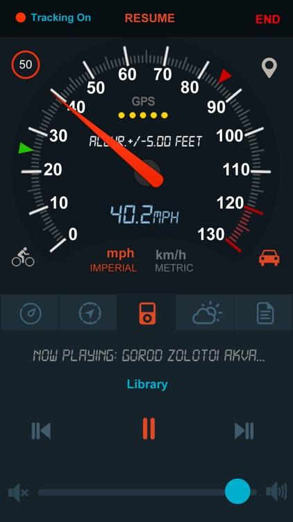 Speedometer GPS - TM 2 screenshot-6