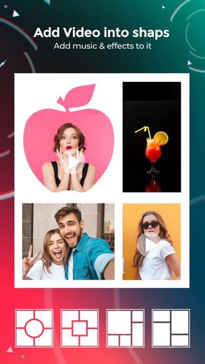 VideoFrame - Video Collage App