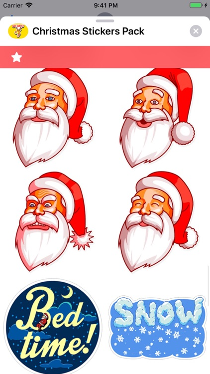 Christmas Stickers Pack ! screenshot-5