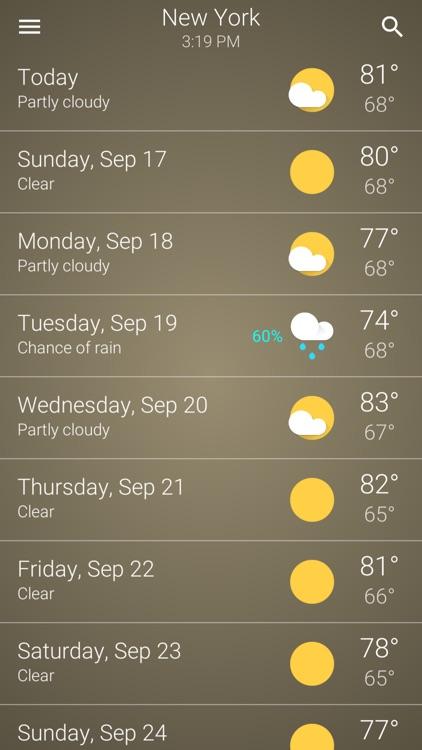 Weather Accurate US screenshot-4