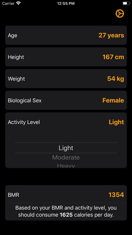BMR Calculator screenshot-4