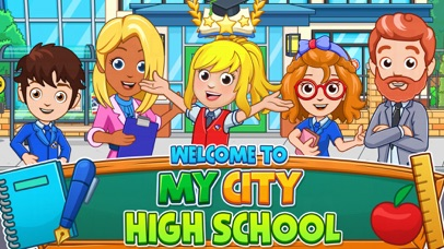 My City : High school screenshot 1
