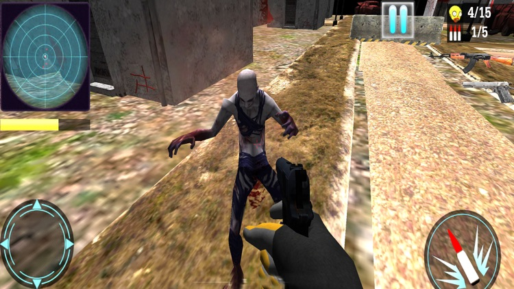 Zombie Age : FPS Hunting Game screenshot-4