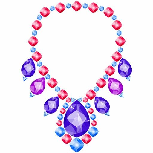 Gems Art Color By Number