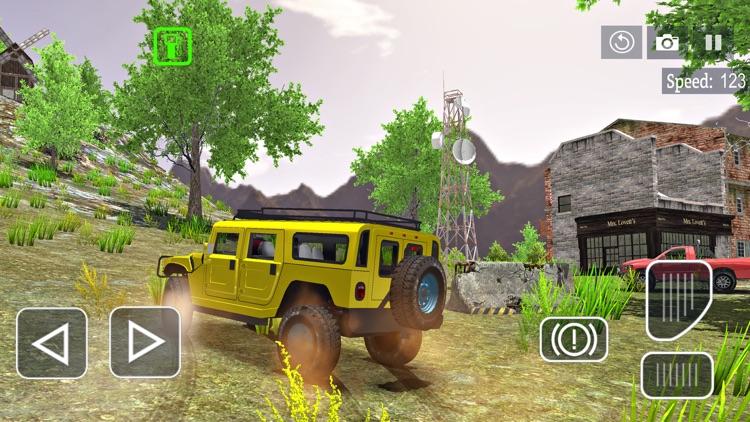 6x6 Offroad Truck Driving Sim
