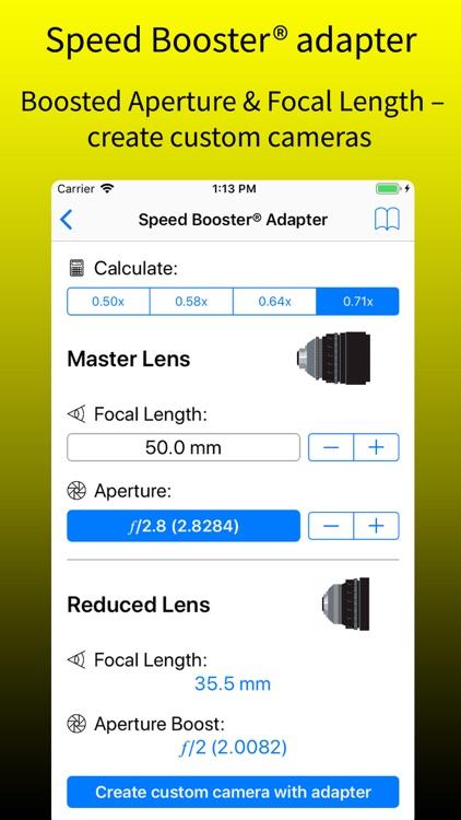 pCAM Pro - Film+Digital screenshot-8