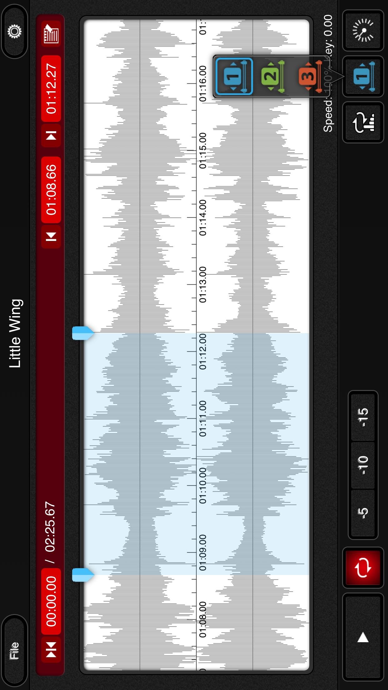 mimiCopy - Slow Down Player Screenshot