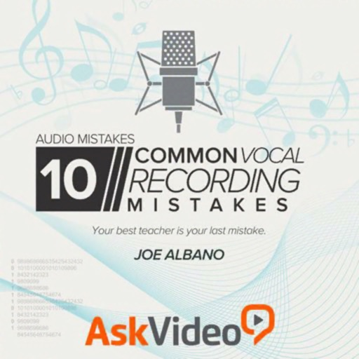 Vocal Recording Mistake Course